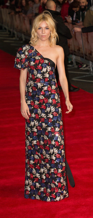 Sienna Miller at the Burnt premiere in London's Leicester Square, VUE Cinema, 29th October 2015