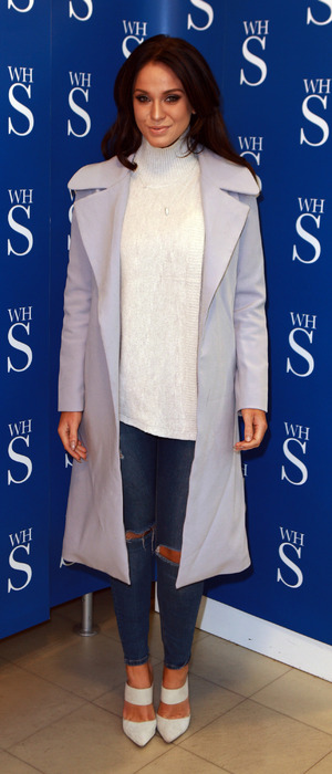 Vicky Pattison at book signing in Brierly Hill, England, 29th October 2015