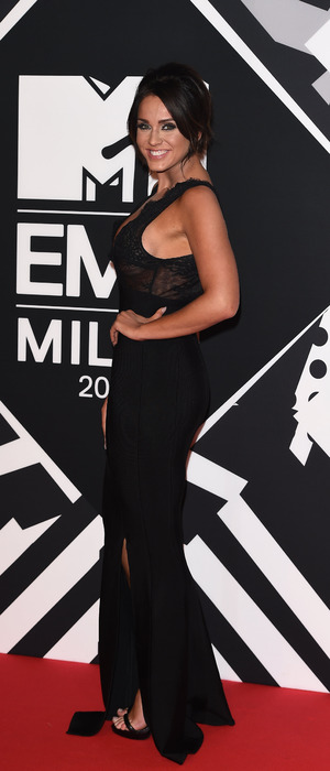 Vicky Pattison at the MTV EMAs in Milan, 26th October 2015