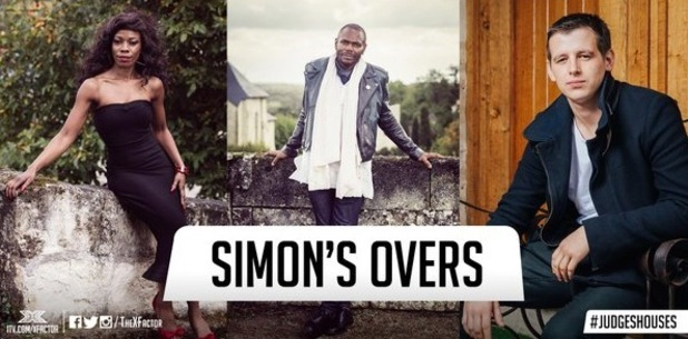 Simon Cowell and his final three Overs, The X Factor 26 October