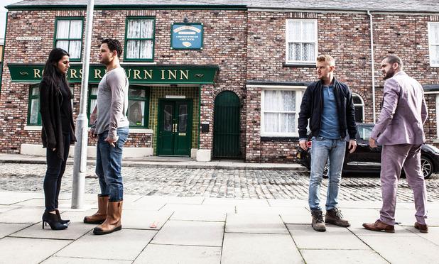 Corrie, Gary accuses Aidan of sleeping with Alya, Fri 30 Oct