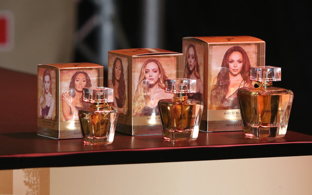 Little Mix launch their first fragrance Gold Magic, 27th October 2015