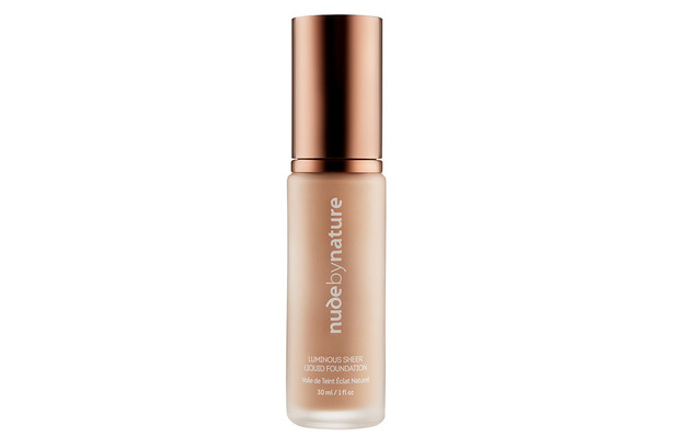 Nude by Nature Luminous Sheer Liquid Foundation £25, 26th October 2015