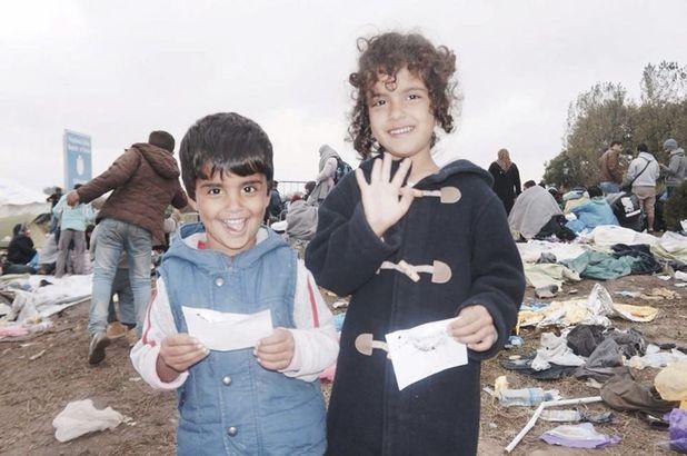 Valentina Osborn helped child refugees