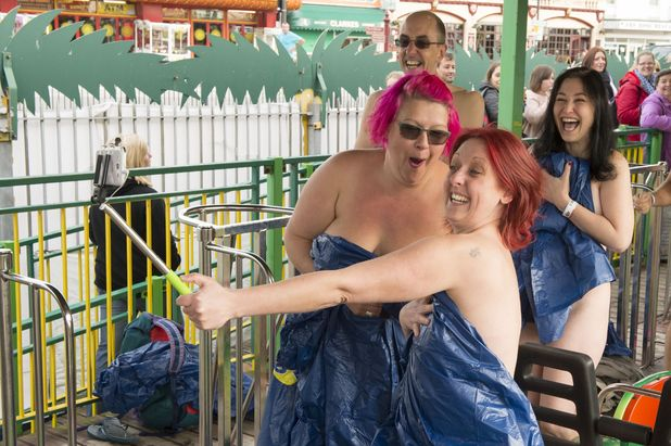 The Green Scream in Southend was riden by 57 naked people