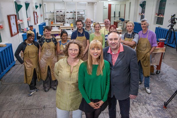 The Great Pottery Throw Down, BBC2, Tue 3 Nov