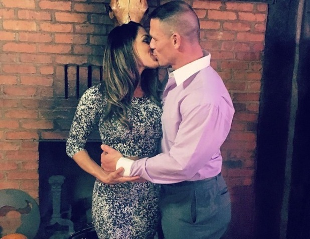 Nikki Bella and her boyfriend John Cena, Texas 19 October