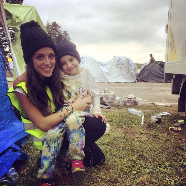 Valentina Osborn was so moved by the plight of refugees, she had to help