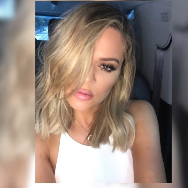 Khloe Kardashian cuts her hair and gets long bob, 26th October 2015