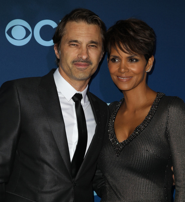 Halle Berry and Olivier Martinez at the CBS Television presents Extant Premier party - June 2014.