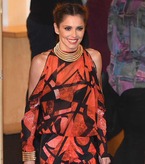 Cheryl Fernandez-Versini seen out and about in London, outside Fountain Studios 26th October 2015