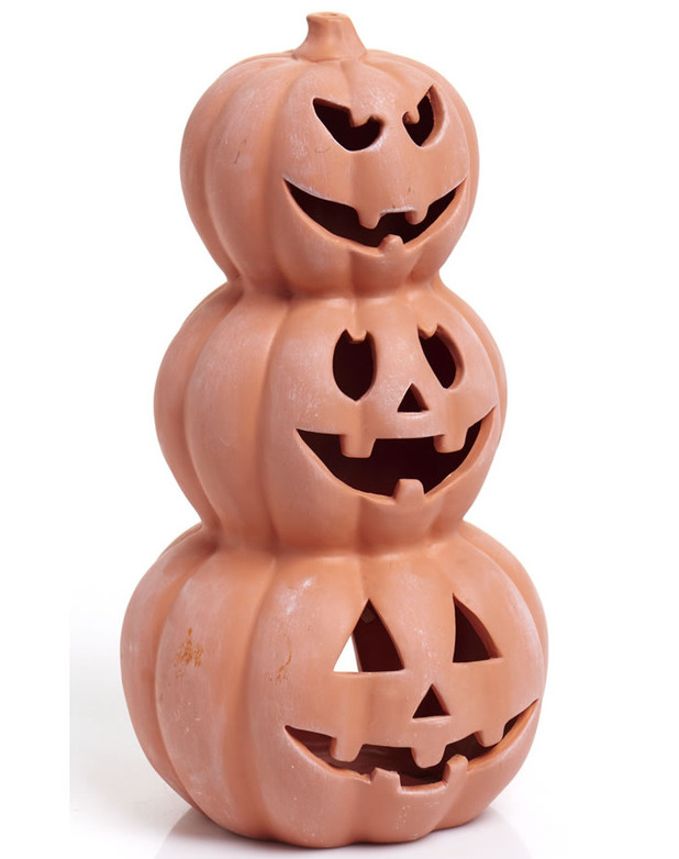 Wilko 3 Tier Pumpkin Candle Holder