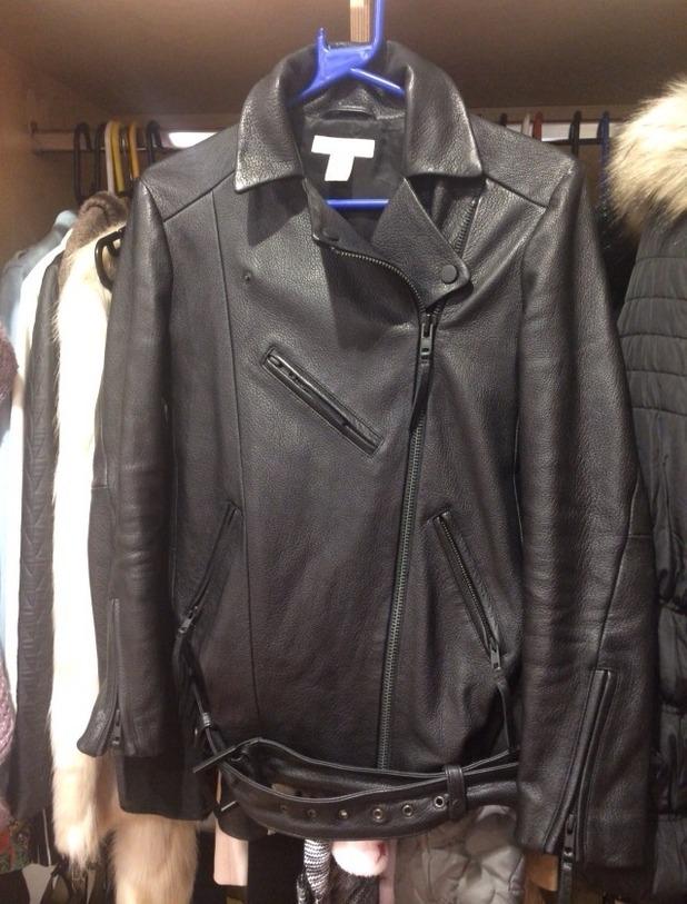 Brooke Vincent blog - new leather jacket. 29 October 2015.