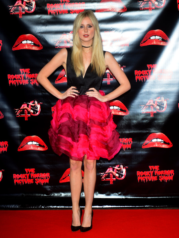Diana Vickers arrives at The Rocky Horror Picture Show 40th anniversary screening at Royal Albert Hall, 27th October 2015