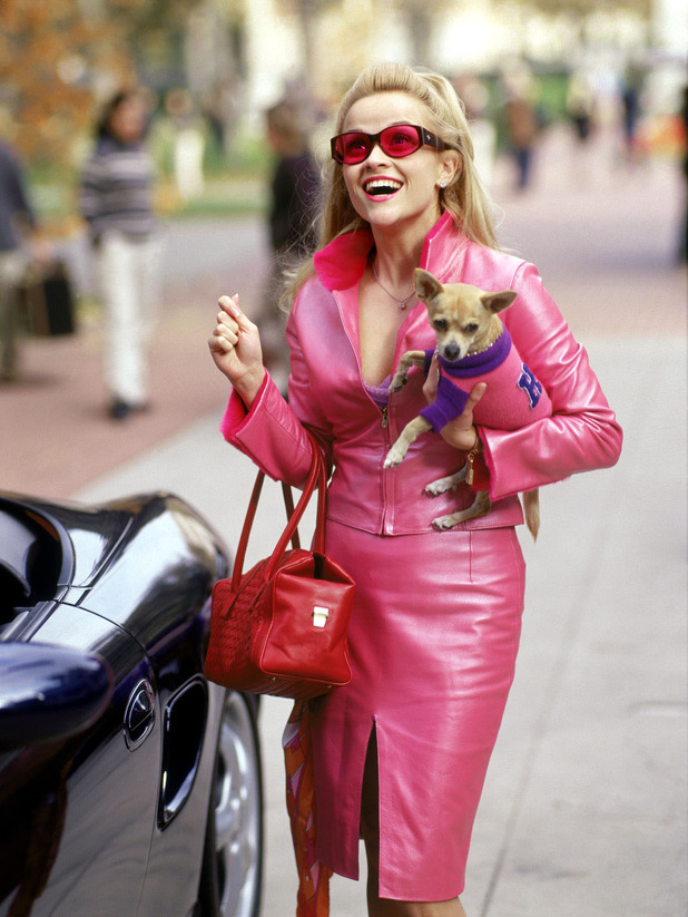 Reese Witherspoon as Elle Woods in Legally Blonde - 2001