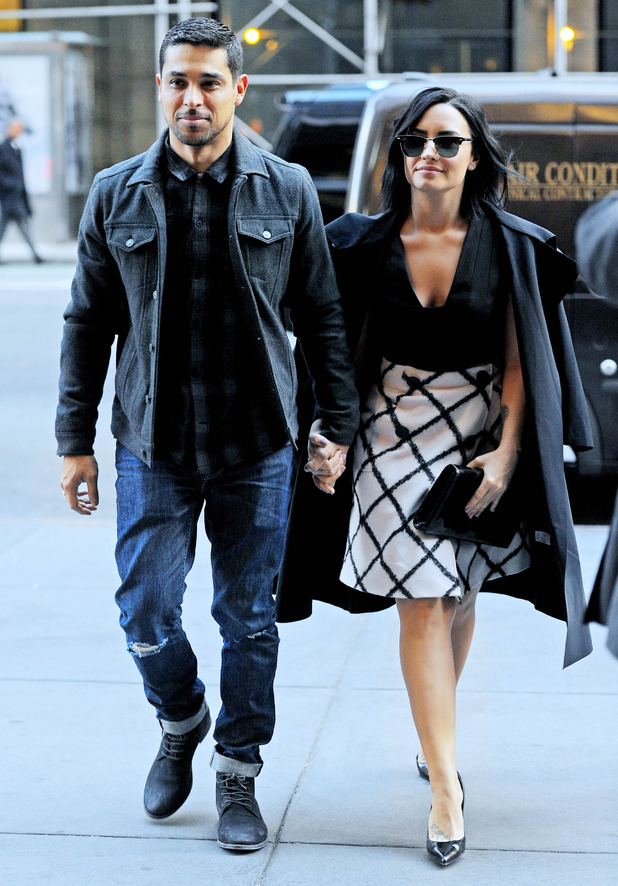 Demi Lovato and Wilmer Valderrama step out in New York together 26 October