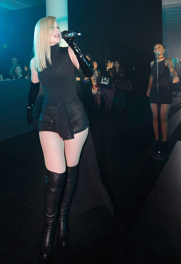 Iggy Azalea performs at the Vogue China Gala Dinner in China, 28th October 2015