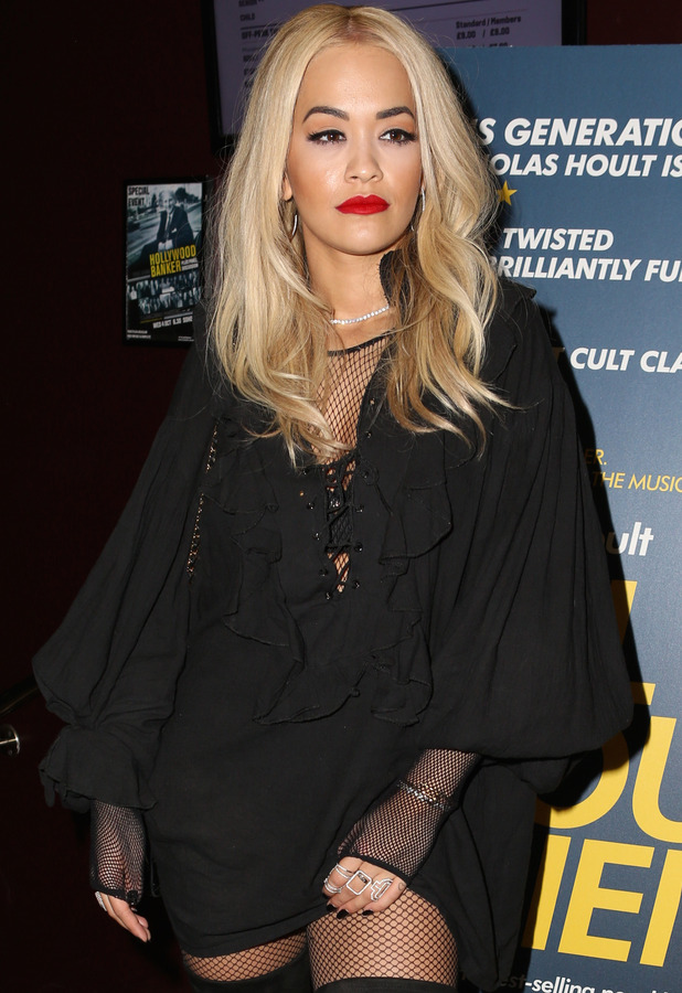 Rita Ora at the Kill Your Friends screening in London's Soho, 28th October 2015