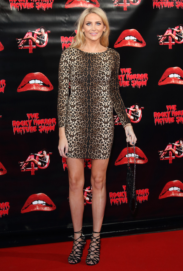 Stephanie Pratt attends The Rocky Horror Picture Show 40th anniversary screening at Royal Albert Hall  in London, England on October 27, 2015