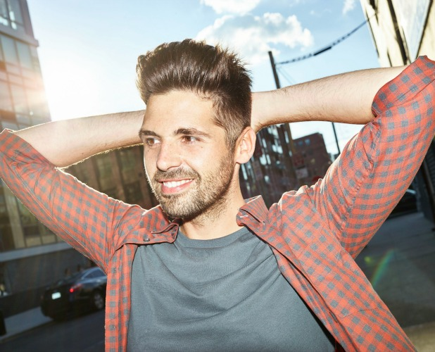 Ben Haenow press shot for new single and album 2015