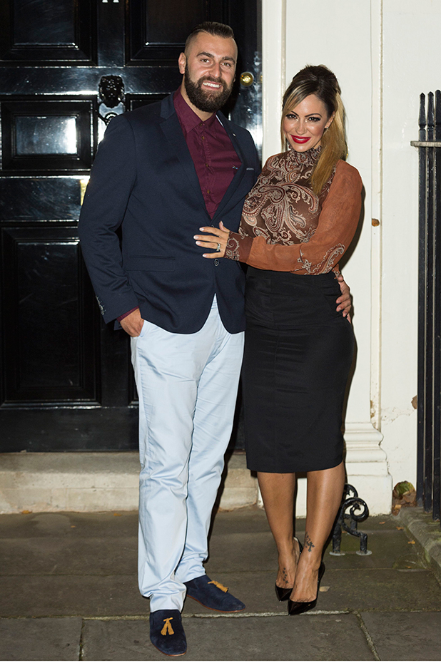 #DASWEET16 16th Anniversary, London, Britain - 26 Oct 2015 James Placido and Jodie Marsh