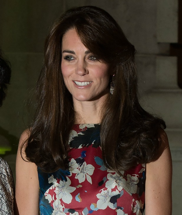 Catherine, Duchess of Cambridge arriving at the 100 Women in Hedge Funds Gala Dinner at the V&A in London 27 Oct 2015