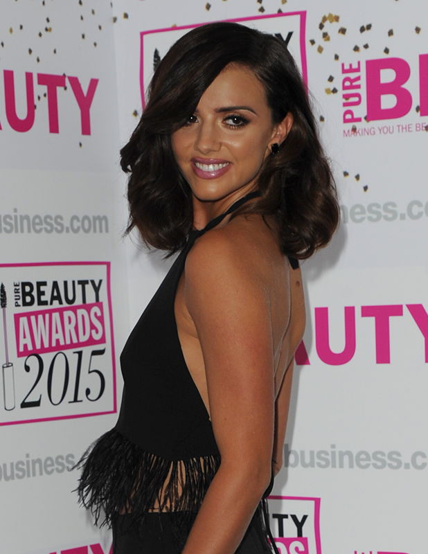 Pure Beauty Awards at the Savoy Hotel Lucy Mecklenburgh, 29 Oct 2015