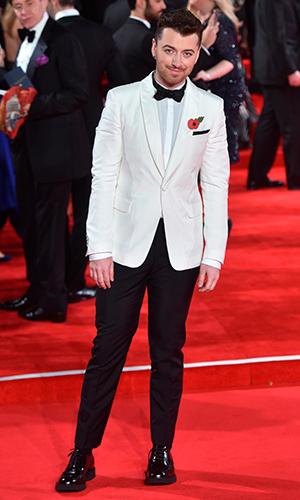James Bond Spectre World Premiere held at Royal Albert Hall Sam Smith