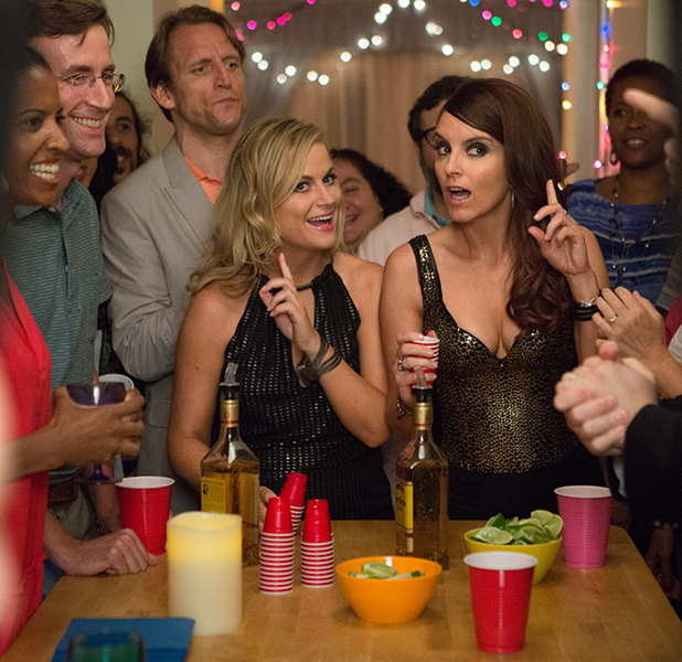 Sisters movie poster: Tina Fey and Amy Poehler