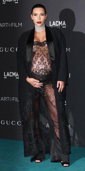 Kim Kardashian attends LACMA Art + Film Gala 2015, 7 November 2015.