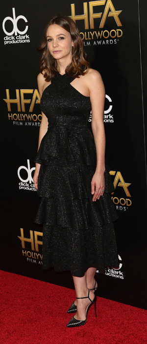 Carey Mulligan at the 19th Annual Hollywood Film Awards at The Beverly Hilton Hotel in Beverly Hills, 2nd November 2015