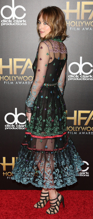 Dakota Johnson attends the 19th Annual Hollywood Film Awards at The Beverly Hilton Hotel in Beverly Hills, 2nd November 2015