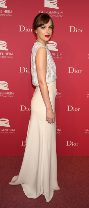 Dakota Johnson at the Dior & Guggenheim International Gala Dinner in New York, 6th November 2015