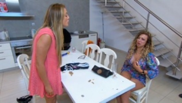 Charlotte Crosby and Holly Hagan fallout, Geordie Shore series 11, Episode 3 3 November