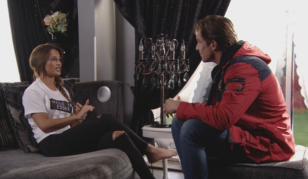 TOWIE: Lewis Bloor has it out with his ex girlfriend Nicole Bass. Episode airs: Wednesday 4th November