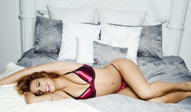 Ferne McCann models new By Caprice range