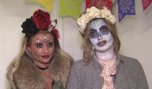 Ferne McCann reflects on her argument with Liam Blackwell in TOWIE video. 1 November 2015.