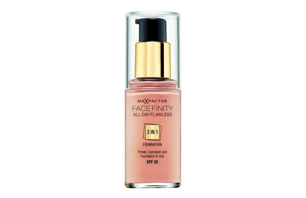 Max Factor All Day Flawless 3-in-1 Foundation £9.99, 6th November 2015