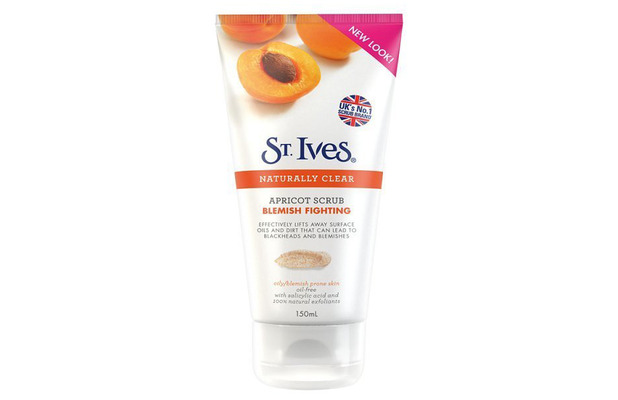 St. Ives Naturally Clear Blemish Fighting Apricot Scrub, £3.99, 3rd November 2015