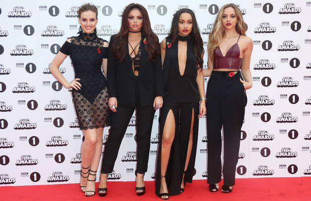 Little Mix attend Radio 1 Teen Awards 2015 at Wembley Arena, 8 November 2015.