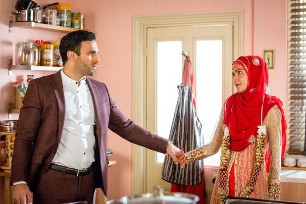 EastEnders, will Kush and Shabnam wed? Fri 6 Nov