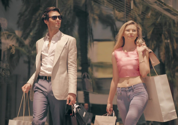 Mark-Francis Vandelli and Georgia Toffolo shopping in LA 11 August