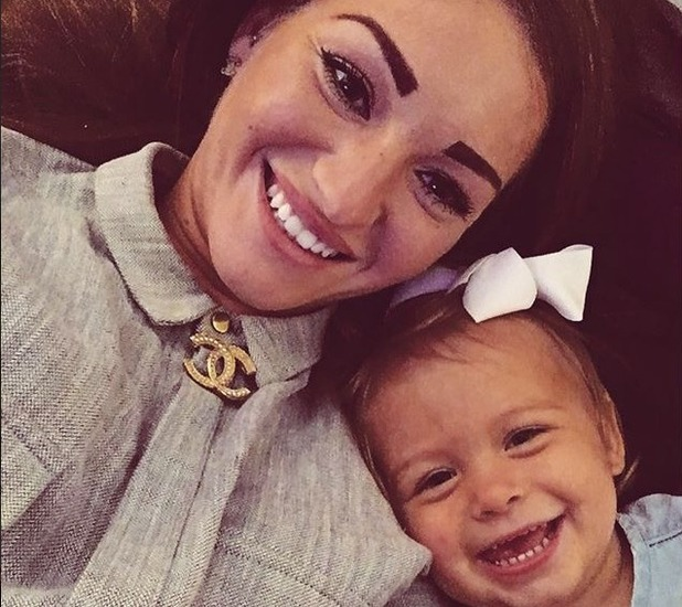 S Club Junior Daisy Evans shares pictures of daughter Lola - 5 Nov 2015