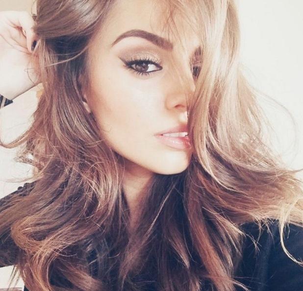 Cher Lloyd takes glamorous selfie, Instagram 4 November