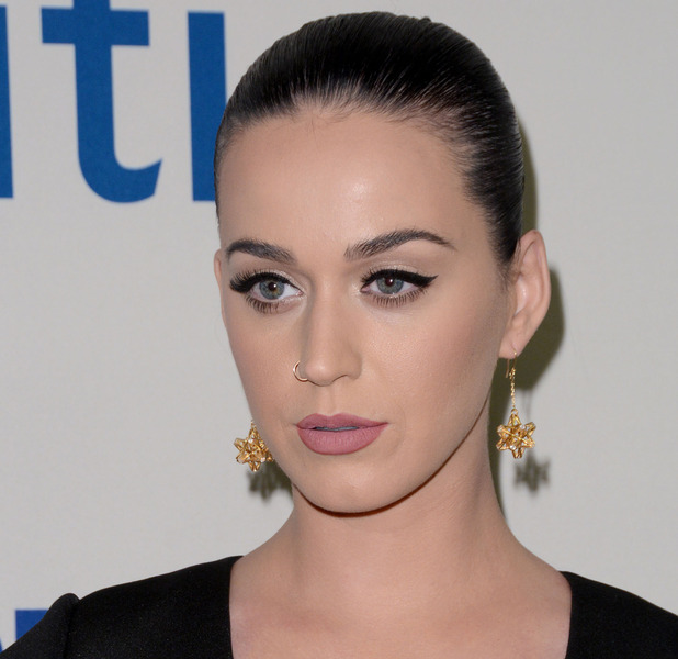 Katy Perry shows off stunning make-up at David Lynch Foundation Benefit Concert in New York, 5th November 2015