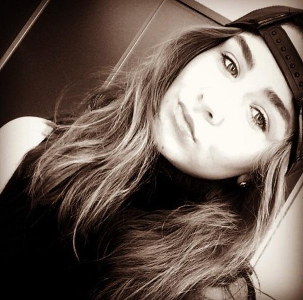Brooke Vincent, Instagram selfie October