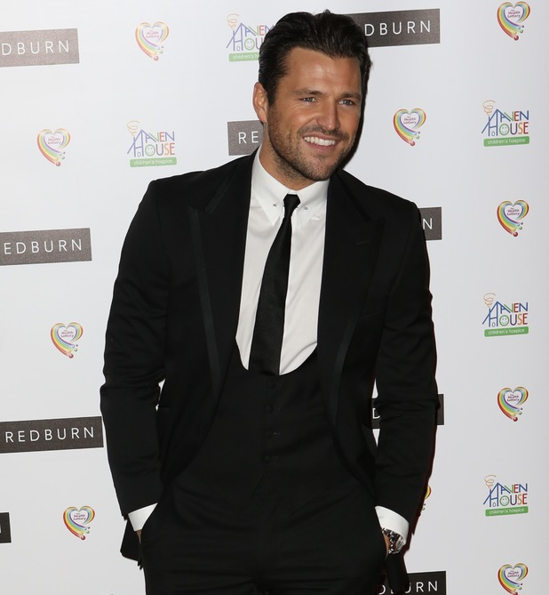 Mark Wright - Red Carpet arrivals for Haven House Ball - 8 October 2015.