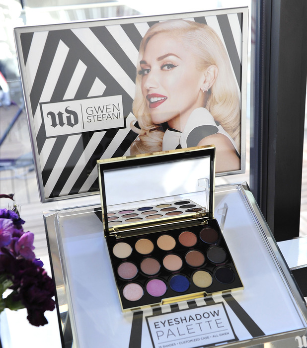 Gwen Stefani unveils Urban Decay make-up products in Los Angeles, 29th October 2015