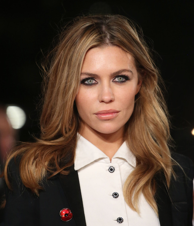 Abbey Clancy arrives at The Hunger Games: Mockingjay - part two - UK film premiere held at the Odeon Leicester Square, London, 5th November 2015