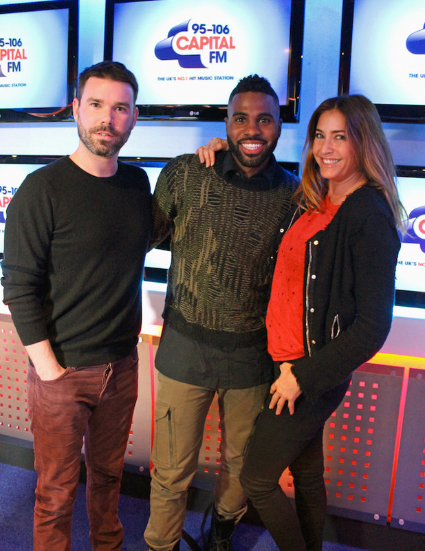 Capital FM announce Jason Derulo as first act for Jingle Bell Ball 2015 2 November